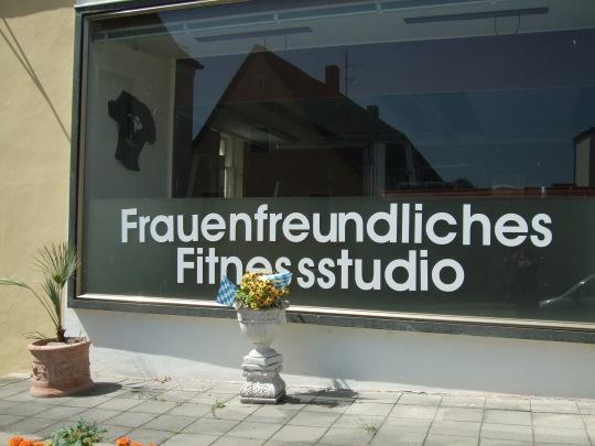 Frauenfreundliches Fitnessstudio